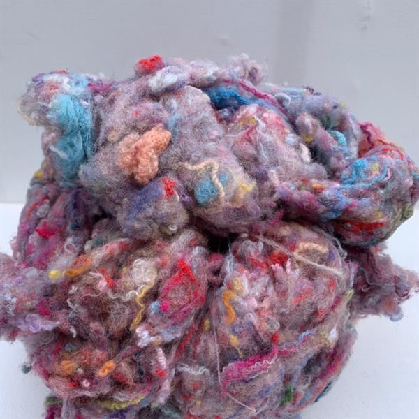 Candyfloss anyone? - Recycled Wool