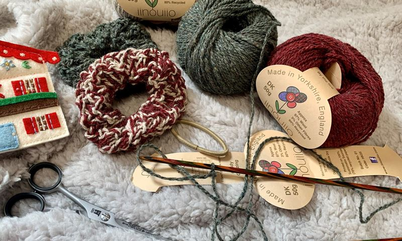 Where is your knitting happy place?